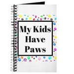 My Kids Have Paws Journal