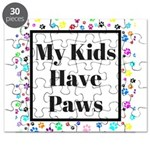 My Kids Have Paws Puzzle