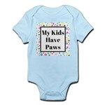 My Kids Have Paws Body Suit