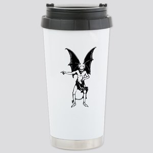 Vintage Pointing Devil Travel Mug