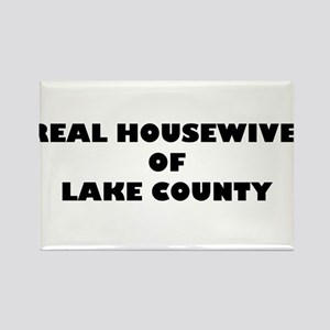 Real Housewives of Lake County Rectangle Magnet