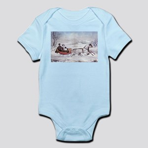 The Road Winter Infant Bodysuit