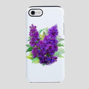 Purple Watercolor Lilac iPhone 7 Tough Case