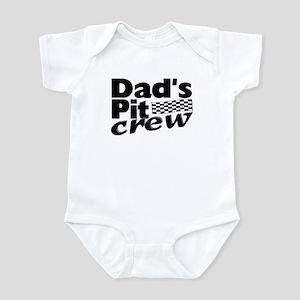 Dad's Pit Crew Infant Bodysuit