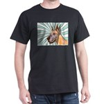 Great Dane Black T-Shirt