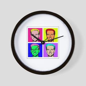 Gavin Newsom Pop Art Wall Clock