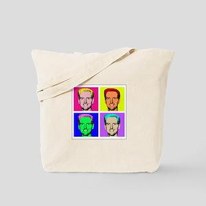 Gavin Newsom Pop Art Tote Bag