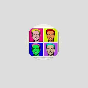 Gavin Newsom Pop Art Mini Button
