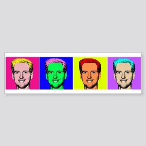 Gavin Newsom Pop Art Bumper Sticker