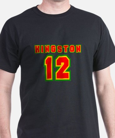 Kingston 12 Black T-Shirt