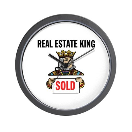 KING OF SOLD Wall Clock