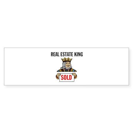 KING OF SOLD Bumper Sticker