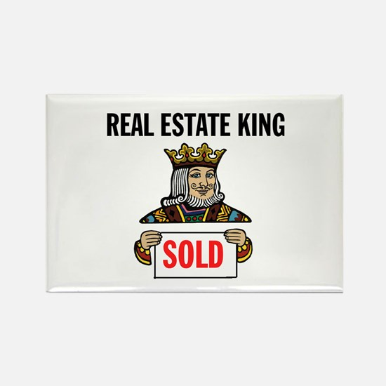 KING OF SOLD Rectangle Magnet