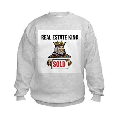 KING OF SOLD Kids Sweatshirt