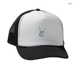 Heavy Metal Music Kids Trucker Hats - CafePress 36384cd12e3