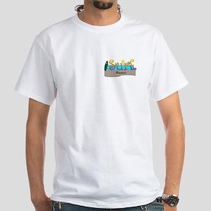 Surf Hawaii White T-Shirt