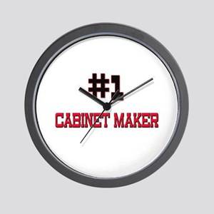 Number 1 CABINET MAKER Wall Clock