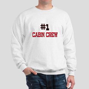 Number 1 CABIN CREW Sweatshirt