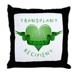 Transplant Recipient 2009 Throw Pillow