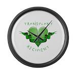 Transplant Recipient 2009 Large Wall Clock