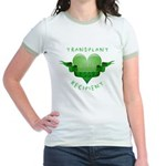Transplant Recipient 2009 Jr. Ringer T-Shirt