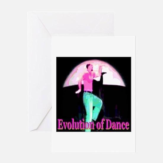 Evolution of Dance Greeting Card