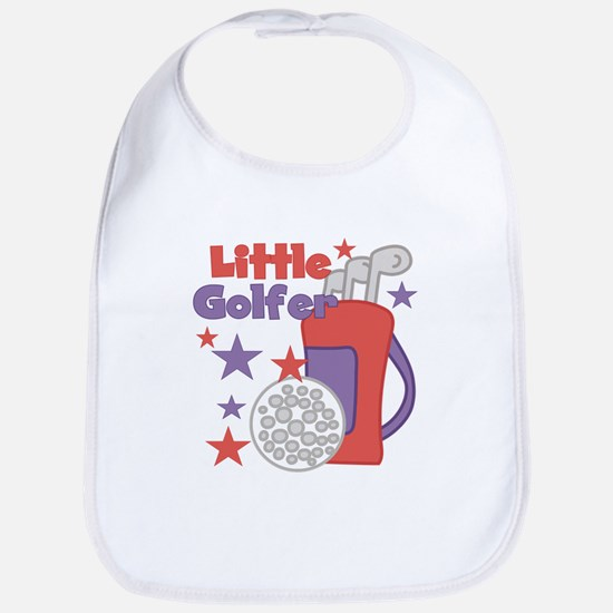 Little Golfer Bib