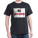 Number 1 BOOK KEEPER Dark T-Shirt