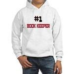 Number 1 BOOK KEEPER Hooded Sweatshirt