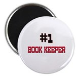Number 1 BOOK KEEPER Magnet