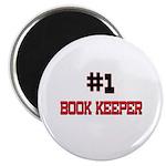 Number 1 BOOK KEEPER Magnet