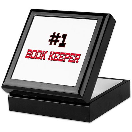 Number 1 BOOK KEEPER Keepsake Box