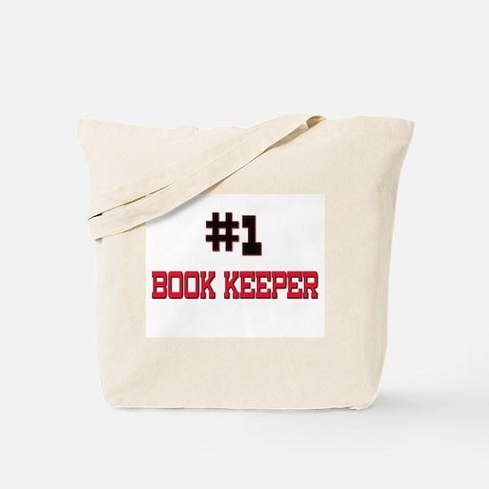 Number 1 BOOK KEEPER Tote Bag