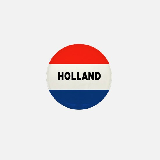 Holland Flag Mini Button