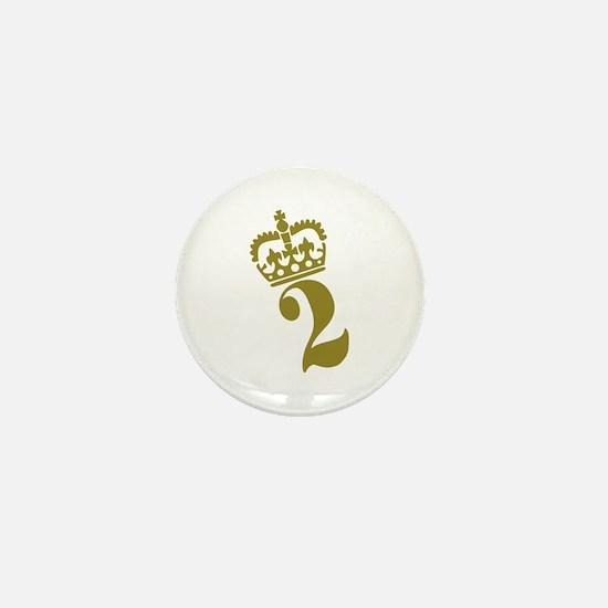2nd Birthday Mini Button