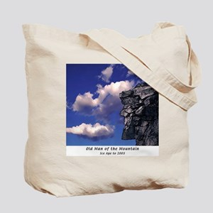 Old Man of the Mountain Clear Sky Tote Bag