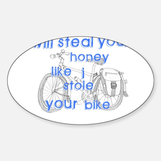 Honey stealer Oval Decal