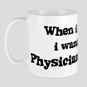 Be A Physician Assistant Mug