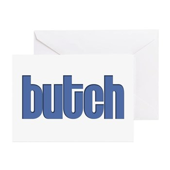 Butch Greeting Cards (20 pack)