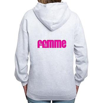 Femme Women's Zip Hoodie