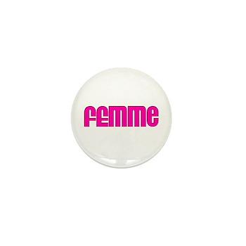Femme Mini Button (10 pack)