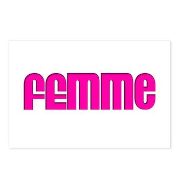 Femme Postcards (Package of 8)