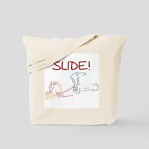 Baseball Slide Tote Bag