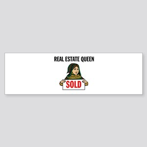 SALES QUEEN Bumper Sticker
