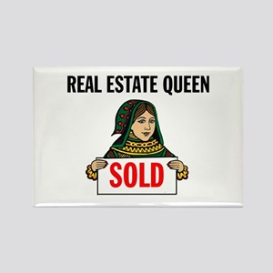 SALES QUEEN Rectangle Magnet