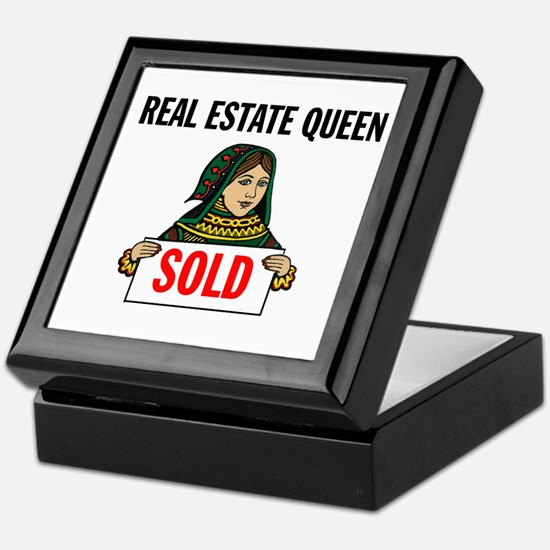 SALES QUEEN Keepsake Box