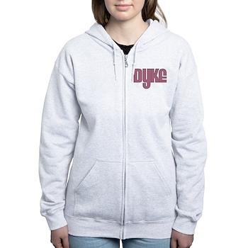 Pink Dyke Women's Zip Hoodie