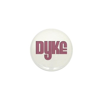 Pink Dyke Mini Button (10 pack)