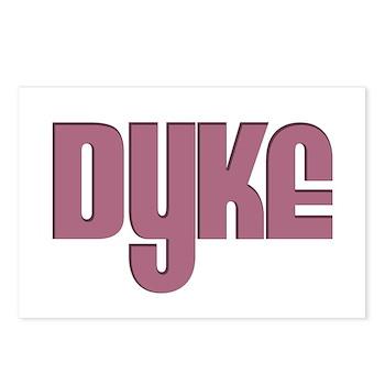Pink Dyke Postcards (Package of 8)