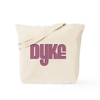 Pink Dyke Tote Bag